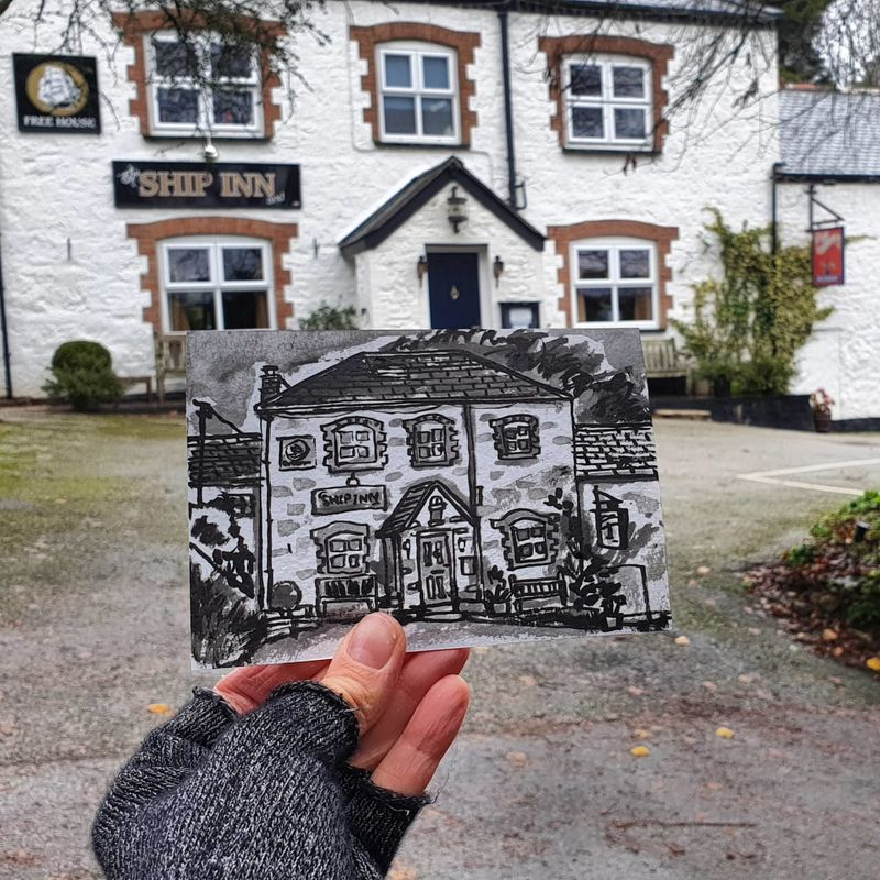 #361 The Ship Inn and Restaurant, Mawgan in Meneage, Lizard Peninsula - product images
