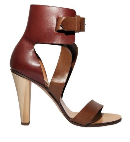 Chloé,-,100mm,Calfskin,Ankle,Sandals,Chloé - 100mm Calfskin Ankle Sandals