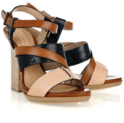Reed,Krakoff,-,Leather,Multi-strap,Sandals,Reed Krakoff - Leather Multi-strap Sandals