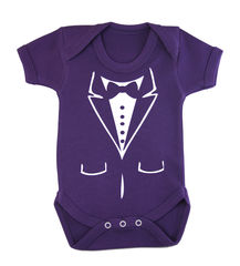 Purple Baby Tuxedo - product images 1 of 1