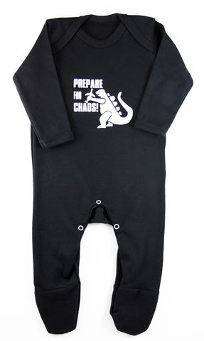 Prepare,for,Chaos,Romper,Suit,Childrens wear,Baby clothes,Bodysuit,baby_wear,baby,onesie,prepare_for_chaos,godzilla,baby_bodysuit,Baby_godzilla,baby_grow,Baby_Onesie,godzilla_Onesie,chaos_baby,baby_godzilla_onesie,baby_clothes,cotton,thermal print