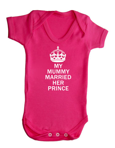 My,Mummy,Married,Her,Prince,Highborn collection,the royal baby,a royal baby,new royal baby,Baby Clothes,Baby clothing,Baby Body suit,Baby bodysuit,baby onesie,onesie,baby grow,highborn collection,Royal baby,My dad is king,Orange,Cotton