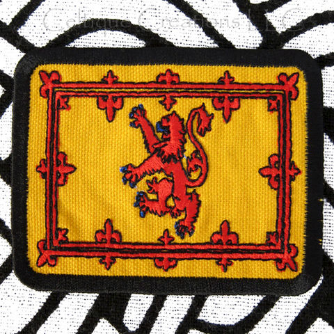 Scottish,Royal,Standard,Sew,On,Patch,Handmade,Scotland,Flag,Badge,Scottish Royal Standard, Scottish Flag Patch, Handmade Scottish Badge, Rampant Lion Flag