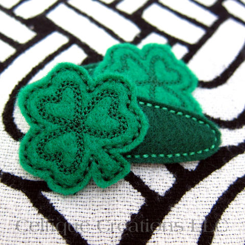 Irish,Shamrock,Snap,Hair,Clips,Handmade,Green,Clover,Accessories,Irish Shamrock Hair Clips, Shamrock Barrettes, St. Patrick's Day Barrettes, Irish Shamrock Snap Clips, Handmade Irish Hair Clips