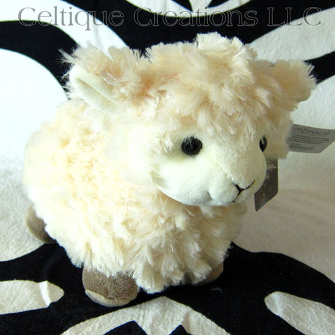 Chubby,Standing,Sheep,Stuffed,Animal,Cream,Lamb,Soft,Toy,Chubby lamb, chubby sheep, irish lamb, scottish lamb, lamb stuffed animal, sheep stuffed animal, lamb soft toy, sheep soft toy, standing sheep, celtique creations