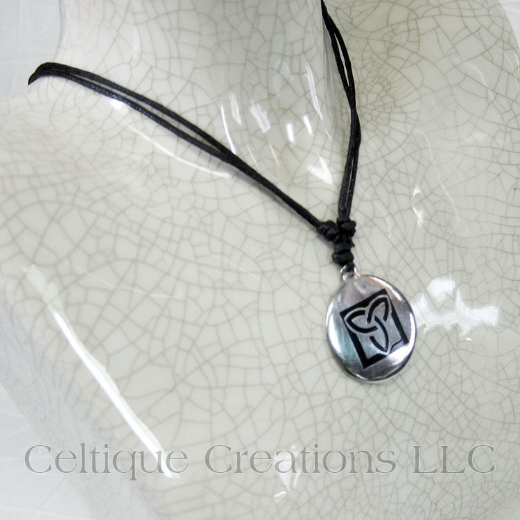 Celtic Trinity Knot Adjustable Necklace - product images  of