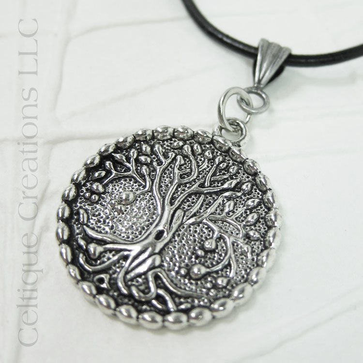 Tree of Life Necklace Handmade Adjustable - product images  of