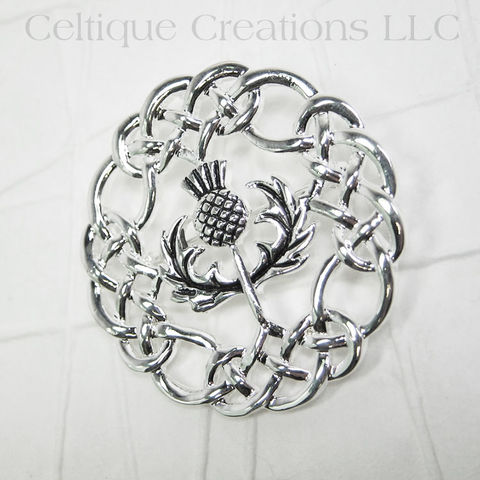 Scottish,Thistle,Celtic,Knot,Brooch,Pin,Scottish Thistle Brooch, Scottish Thistle Pin, Thistle Brooch, Thistle Pin, Scottish Jewelry, Thistle Jewelry, Celtique Creations