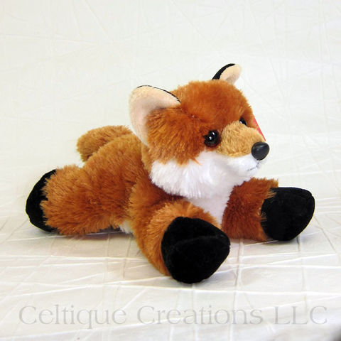Foxxie,the,Fox,Mini,Flopsies,Stuffed,Animal, Fox Stuffed Animal, Fox Soft Toy, Fox Mini Flopsies, Foxxie, Stuffed Animal, Soft Toy, Aurora Stuffed Animal, Celtique Creations
