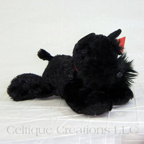 Scotty,The,Scottish,Terrier,Mini,Flopsies,Stuffed,Animal,Scottish Terrier Stuffed Animal, Scotty Dog Stuffed Animal, Scottie Dog Stuffed Animal, Dog Stuffed Animal, Puppy Stuffed Animal, Mini Flopsies, Celtique Creations