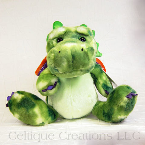Ohen,Gentleheart,Dragon,Stuffed,Animal,Ohen Gentleheart, Dragon Stuffed Animal, Dragon Soft Toy, Dragon Stuffie, Sweet Dragon, Cute Dragon, Aurora Stuffed Animals, Celtique Creations