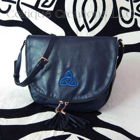 Trinity Celtic Knot Sienna Tassel Crossbody Purse - product images  of
