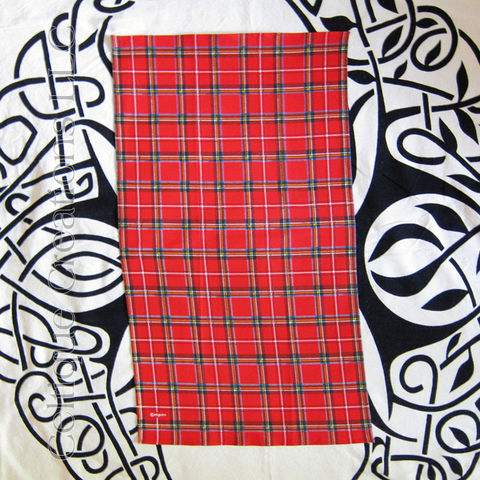 Royal,Stewart,Tartan,Cotton,Tea,Towel,Tartan Tea Towel, Tartan Towel, Plaid Tea Towel, Cotton Tea Towel, Tea Towel, Kitchen Towel, Celtique Creations