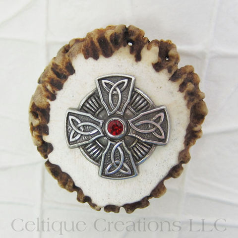 Celtic,Cross,Handmade,Deer,Antler,Kilt,Pin,Cap,Badge,Kilt Pin, Handmade, Deer Antler, Celtic Cross, Cap Badge, One of A Kind, OOAK, Pin, Badge, Celtic, Knotwork, Knot, Celtique Creations