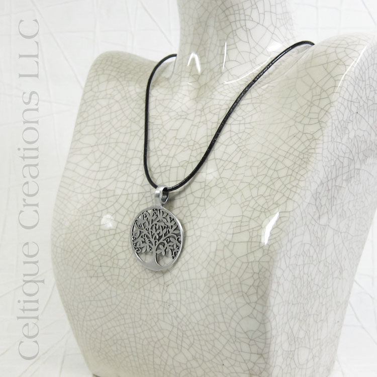 Modern Tree of Life Handmade Necklace - product images  of