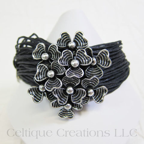Shamrock Bouquet Adjustable Bracelet - product images  of