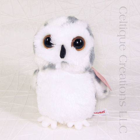 Snowy,Owl,Stuffed,Animal,Mini,Flopsies,Snowy Owl, Snowy Owl Stuffed Animal, Owl, Owl Stuffed Animal, Mini Flopsie, Aurora, Bird, Soft Toy, Stuffed Animal, Celtique Creations