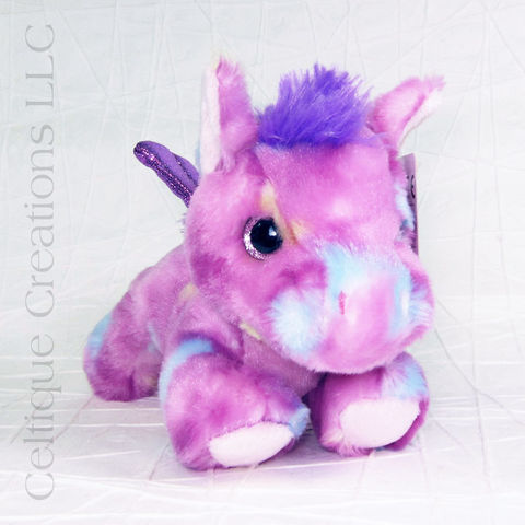 Tutti,Frutti,Pegasus,Bright,Fancies,Stuffed,Animal, Pony, Pony Stuffed Animal, Flying Pony, Flying Horse, Stuffed Animal, Soft Toy, Stuffie, Teddy Bear, Bright Fancies, Aurora, Celtique Creations