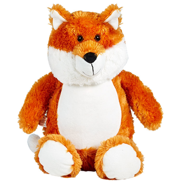 Personalized Fox Cubbies Stuffed Animal - product image