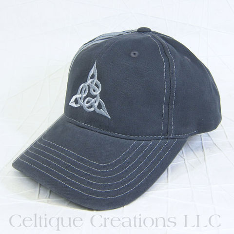 Celtic Triquetra Striped Baseball Cap - product images  of
