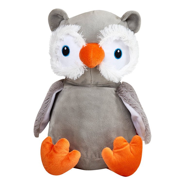 Personalized Owl Cubbies Stuffed Animal - product image