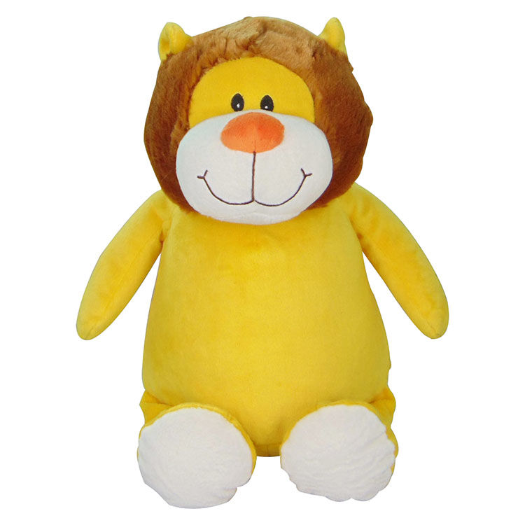 Personalized Lion Cubbies Stuffed Animal - product image