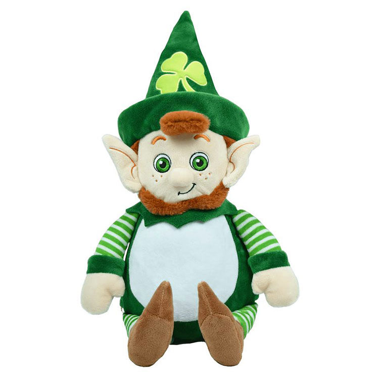 Personalized Leprechaun Cubbies Soft Toy - product image