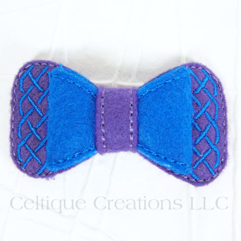 Celtic,Hair,Bow,Handmade,Barrette,Purple,and,Blue,Celtic Bow, Celtic Hair Bow, Celtic Barrette, Handmade Celtic Bow, Handmade Celtic Barrette, Purple and Blue Hair Bow, Celtique Creations