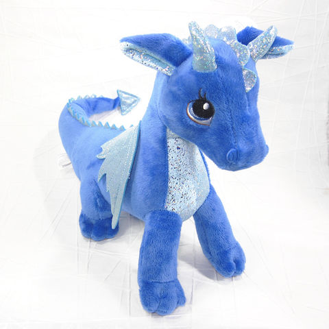 Indigo,the,Blue,Dragon,Stuffed,Animal,Soft,Toy,Sparkle,Tales,Aurora,Dragon Stuffed Animal, Dragon Soft Toy, Dragon Stuffie, Blue Dragon, Girl Dragon, Fantasy Dragon, Sparkle Tales, Aurora, Celtique Creations
