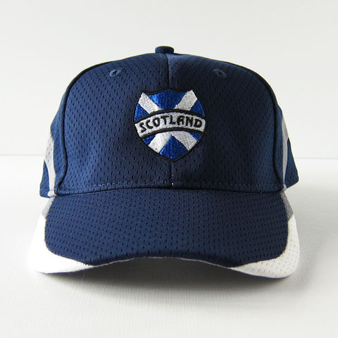 Scotland,Athletic,Baseball,Hat,Cap, Scottish, Saltire, St. Andrew's Cross, Baseball, Hat, Cap, Athletic, Athletic Mesh, Polyester, Embroidered, Celtique Creations
