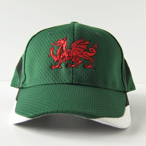 Welsh,Dragon,Athletic,Baseball,Hat,Cap,Red Dragon, Dragon, Wales, Welsh, Athletic, Athletic Mesh, Baseball, Hat, Cap, Polyester, Embroidered, Celtique Creations