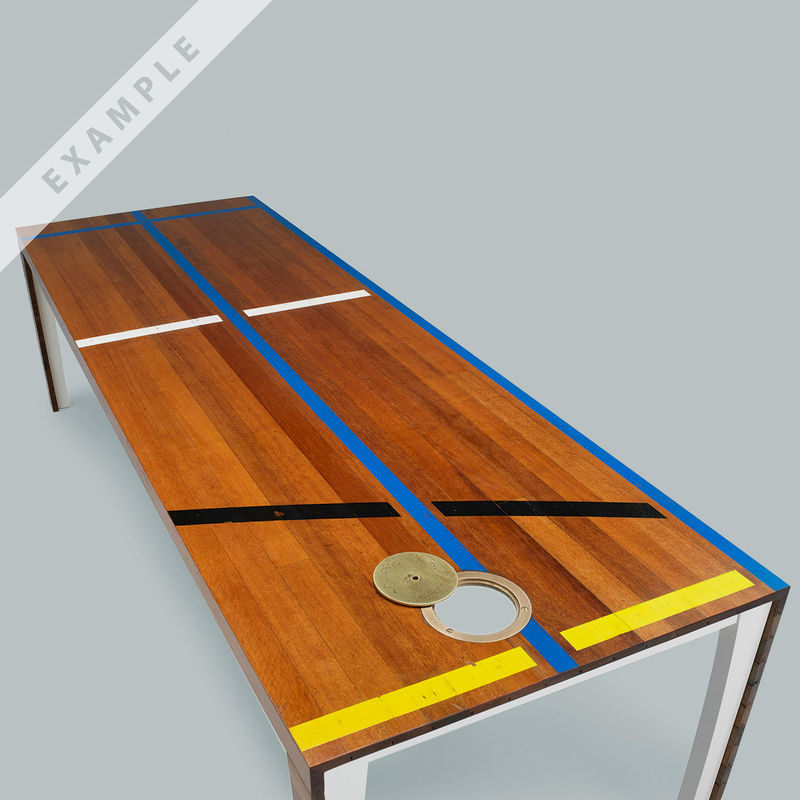 TABLE ‹1968› BY MENKESDRIEK FOR ATELIER BELGE - product images  of