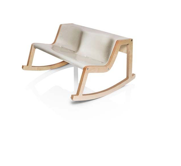 ROCKER BENCH ‹MUSTAFA› BY HELMUT MORRISON - product image