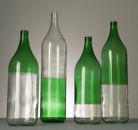 ‹HOME,MADE›,bottle, recycled, vase, glass, flowervase, flasche, glas, blumenvase, vessel