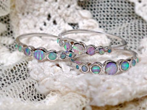 Unicorn,Tears,Opal,Ring