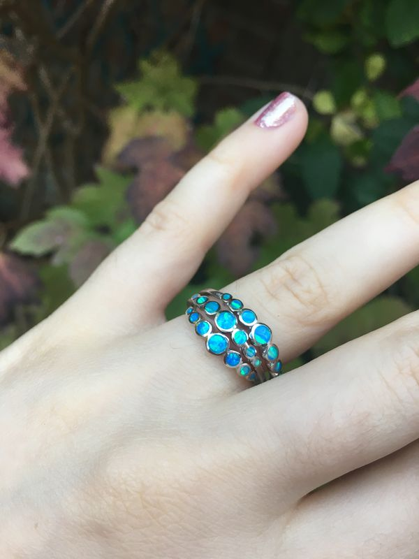 Mermaid Tears Opal Ring - product image