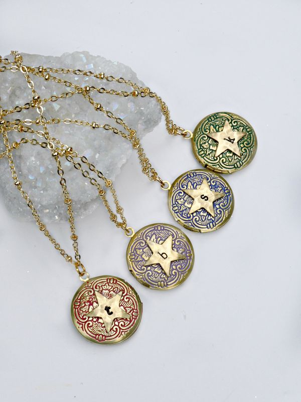 Personalised Star Locket - product image