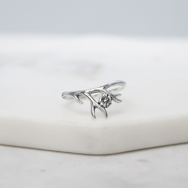 Forest Nymph Sterling Silver Ring - product image