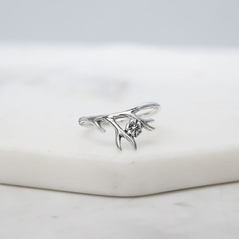 Forest,Nymph,Sterling,Silver,Ring