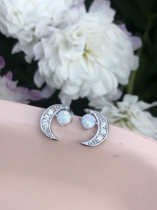 Star Gazer Sterling Silver Studs - product image
