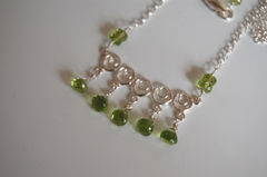 Peridot,and,Sterling,silver,Necklace,-Statement,necklace,Jewelry,Wire_Wrapped,christmas,canada,peridot_necklace,green_necklace,statement_necklace,for_her,gift_for_her,for_mom,for_women,womens_jewelry,handmade,handmade_necklace,jewelry_for_her,peridot,sterling silver