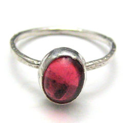Sterling,Silver,and,Rose,Pink,Handmade,Metal,Ring,Size,9,Jewelry,handamde_metal_ring,hot_pink,size_nine,sterling_silver,metal_smithed,artisan_crafted,medieval,rustic,organic,textured,fine_silver,glass_cabochon