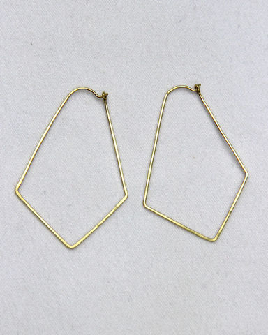Geometric,Hoop,Earrings,,Gold-Filled,,Womens,Jewelry,Earrings, Gold, Gold filled, handmade, Fall, Warm, Summer style