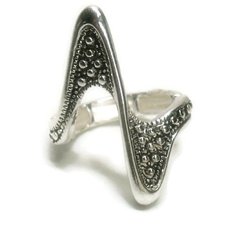 Art Deco Stretch Ring - product images  of