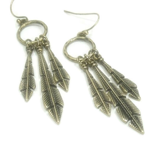 Brass,Feather,Earrings,,Long,Metal,Women,,Southwest,,Dangle,Boho,Earrings,Jewelry,feather_earrings,brass_feathers,long_feather_earring,feather_jewelry,boho_feather_earring,metal_feathers,feather_dangles,southwest_feathers,cowgirl_earrings,earrings_feather,boho_jewelry,western_feathers,black_friday_cyber_m,brass feather