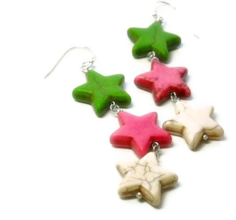 Neon,Star,Earrings,,Pink,,White,,Lime,Green,,Jewelry,,Dangle,,Patriotic,,Americana,,Boho,,Hippie,,Teen,Jewelry,Earrings,Stone,star_earrings,cowgirl_earrings,star_jewelry,patriotic_earrings,americana,dangle_earrings,neon_earrings,rocker_earrings,neon_pink,neon_stars,neon_lime_green,white_pink_lime,black_friday_cyber_m,20mm magnesite stars,ball end pins,eye