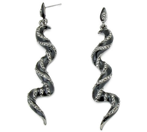 Snake,Earrings,-,Rhinestone,Post,Dangle,Black,Goth,Serpent,Rocker,Animal,Jewelry,snake_earrings,snake_post_earrings,rhinestone_snake,slithering_snake,black_snake,snake_dangle_earring,goth_rocker,snake_jewelry,black_crystal_snake,serpent_earrings,animal_earrings,symbolic_animal,black_friday_cyber_m,rhinestones,hematite