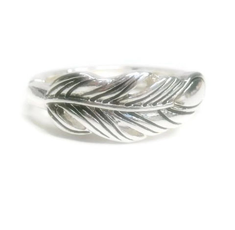 Silver,Feather,Stretch,Ring,Feather Stretch Ring - Adjustable Ring - Metal Feather Ring - Feather Band Ring - Southwest - Minimalist - Silver - Bird Feather, stacking ring, plume,