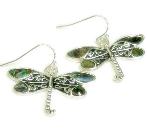 Abalone,Dragonfly,Earrings,-,Dragonflies,Jewelry,Nature,Summer,Boho,Chic,Insect,Bug,dragonfly_earrings,dragonfly_jewelry,bug_jewelry,symbolic_bug,dangle_earrings,delicate_petite,boho_chic,nature_jewelry,symbolic_dragonfly,summer,insect_earrings,abalone_butterflies,gift_for_her,dragonfly charm,silver plated earwires