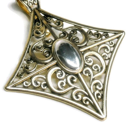 Victorian Filigree Magnetic Pendant - product images  of